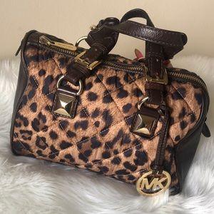 Authentic Michael Kors Bowling Handbag